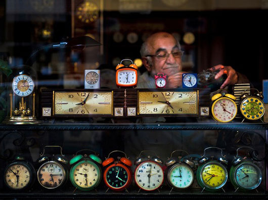 Fotografía National Geographic: Watchmaker Mikail