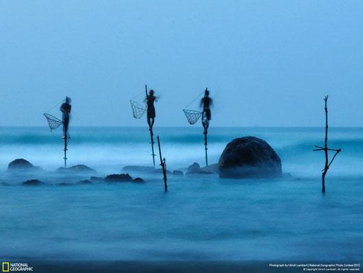 Fotografía National Geographic: Stilt Fishing
