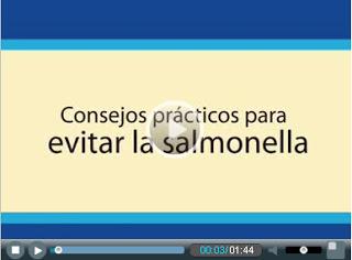 Video: Consejos para evitar la Salmonelosis