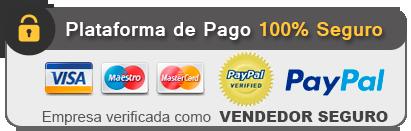 Plataforma de pago 100% seguro