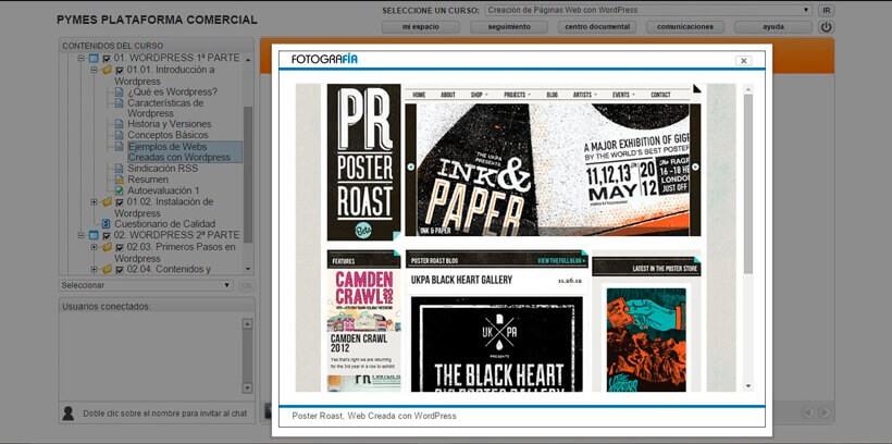 CREACIÓN DE PÁGINAS WEB CON WORDPRESS - Pymes Plataforma Comercial