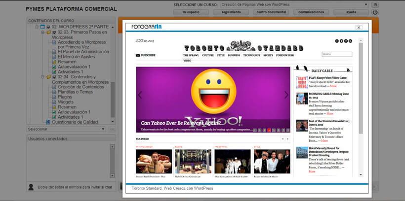 CREACIÓN DE PÁGINAS WEB CON WORDPRESS - Centro de Formación Nacional