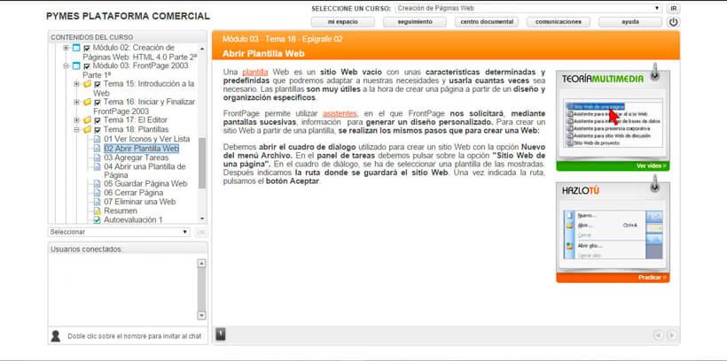 CREACIÓN DE PÁGINAS WEB: HTML 4 - Centro de Formación Nacional