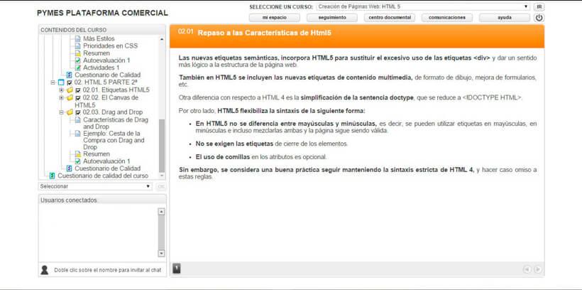 CREACIÓN DE PÁGINAS WEB: HTML 5 - Centro de Formación Nacional