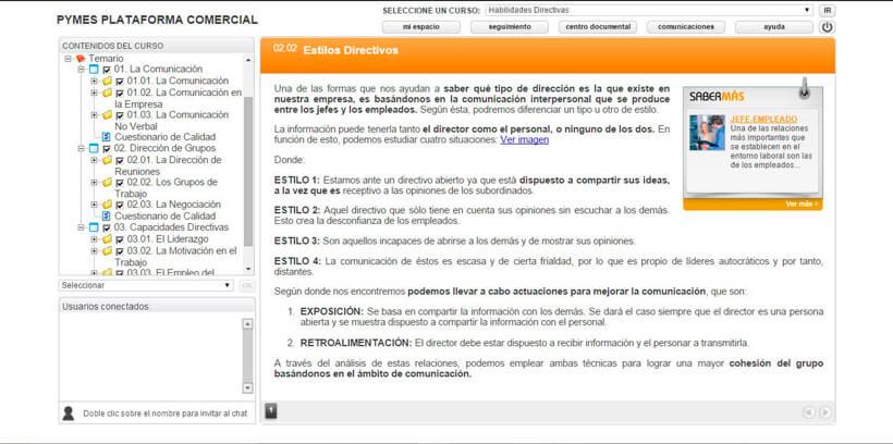 HABILIDADES DIRECTIVAS - Pymes Plataforma Comercial