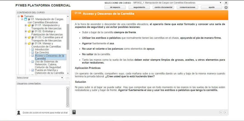 CARRETILLAS ELEVADORAS (CARRETILLERO) - Pymes Plataforma Comercial