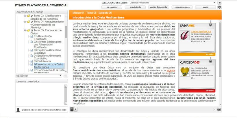 DIETÉTICA Y NUTRICIÓN - Centro de Formación Nacional