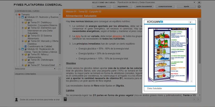 PLANIFICACIÓN DE MENÚS Y DIETAS ESPECIALES - Pymes Plataforma Comercial