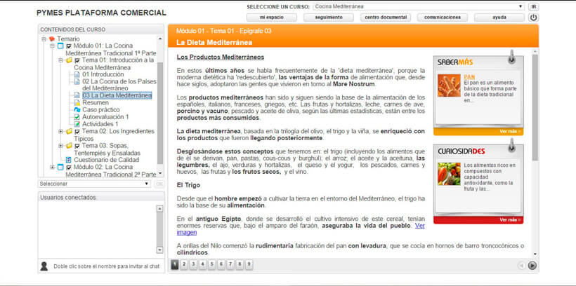 COCINA MEDITERRÁNEA - Pymes Plataforma Comercial