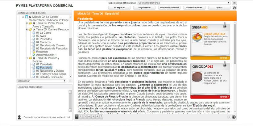 COCINA MEDITERRÁNEA - Centro de Formación Nacional