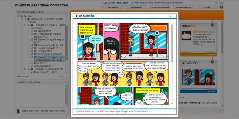 PIZARRA DIGITAL (RECURSO DIDÁCTICO) - Pymes Plataforma Comercial