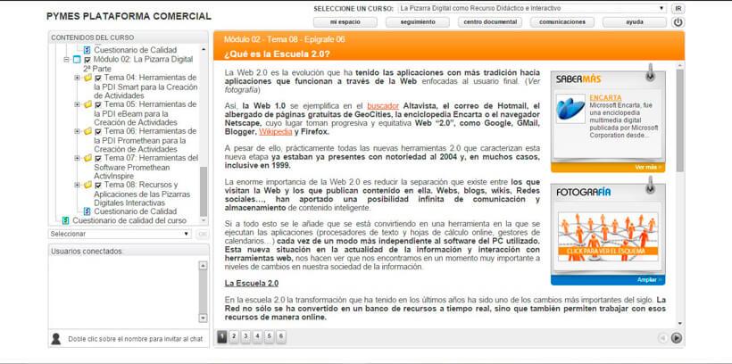 PIZARRA DIGITAL (RECURSO DIDÁCTICO) - Centro de Formación Nacional