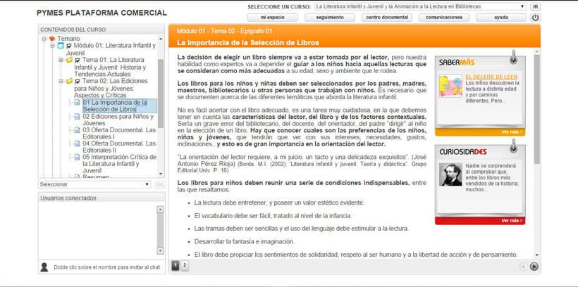 ANIMACIÓN A LA LECTURA INFANTIL Y JUVENIL - Pymes Plataforma Comercial