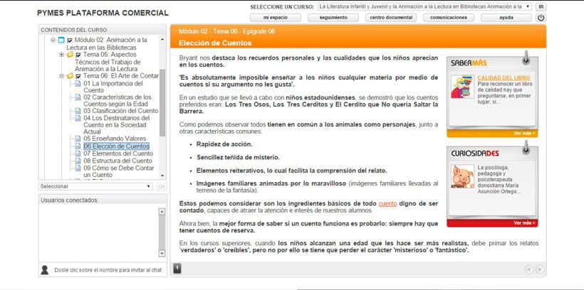 ANIMACIÓN A LA LECTURA INFANTIL Y JUVENIL - Centro de Formación Nacional