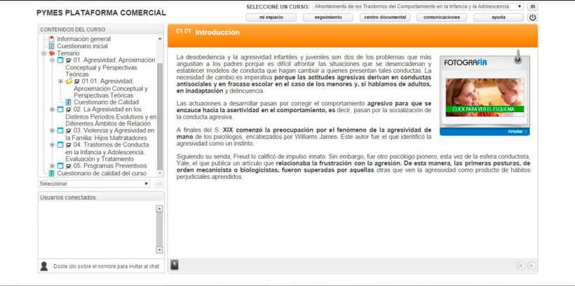 TRASTORNOS DEL COMPORTAMIENTO - Pymes Plataforma Comercial