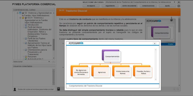 TRASTORNOS DEL COMPORTAMIENTO - Centro de Formación Nacional