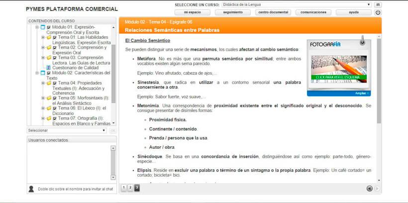 DIDÁCTICA DE LA LENGUA - Pymes Plataforma Comercial