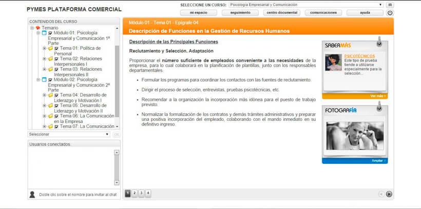PSICOLOGÍA EMPRESARIAL Y COMUNICACIÓN - Pymes Plataforma Comercial