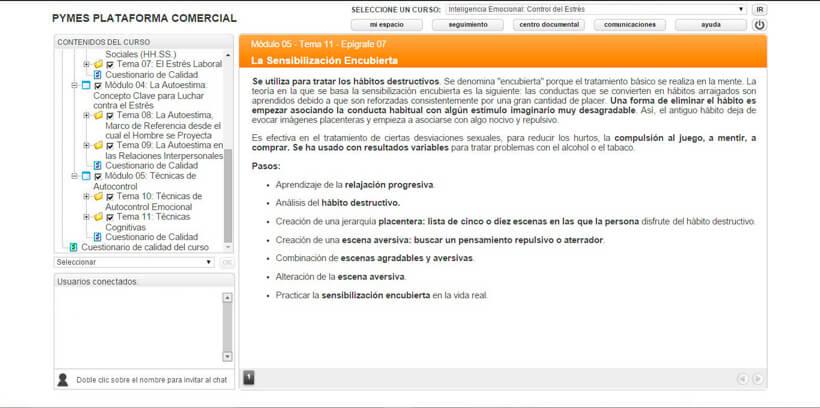 CONTROL DEL ESTRÉS - Centro de Formación Nacional