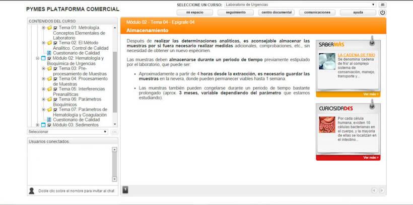 LABORATORIO DE URGENCIAS - Pymes Plataforma Comercial