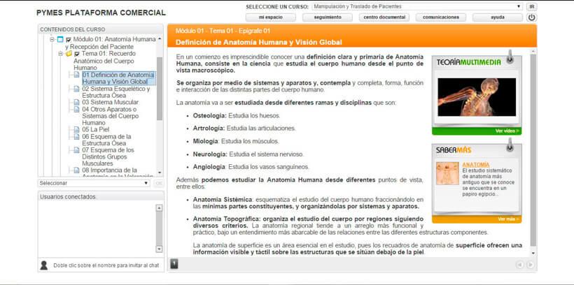 MANIPULACIÓN Y TRASLADO DE PACIENTES - Pymes Plataforma Comercial