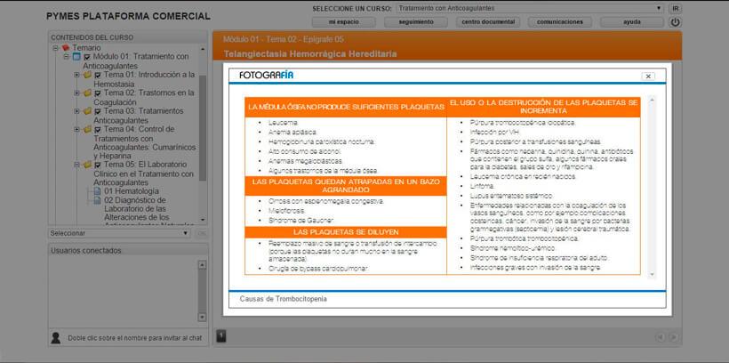 TRATAMIENTO CON ANTICOAGULANTES - Pymes Plataforma Comercial