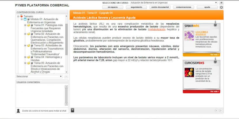 ACTUACIÓN DE ENFERMERÍA EN URGENCIAS - Pymes Plataforma Comercial