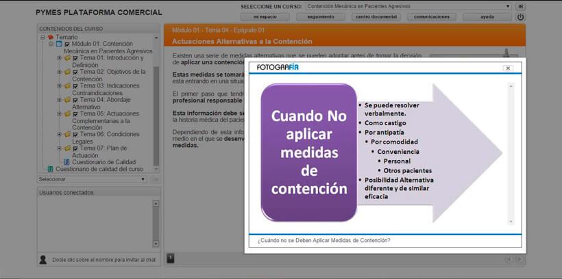 CONTENCIÓN EN PACIENTES AGRESIVOS - Pymes Plataforma Comercial