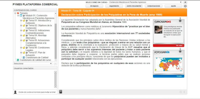 CONTENCIÓN EN PACIENTES AGRESIVOS - Centro de Formación Nacional