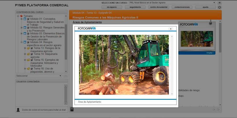PREVENCIÓN RIESGOS LABORALES - AGRARIO - Pymes Plataforma Comercial