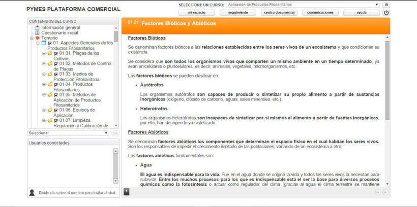 APLICACIÓN DE FITOSANITARIOS - Pymes Plataforma Comercial