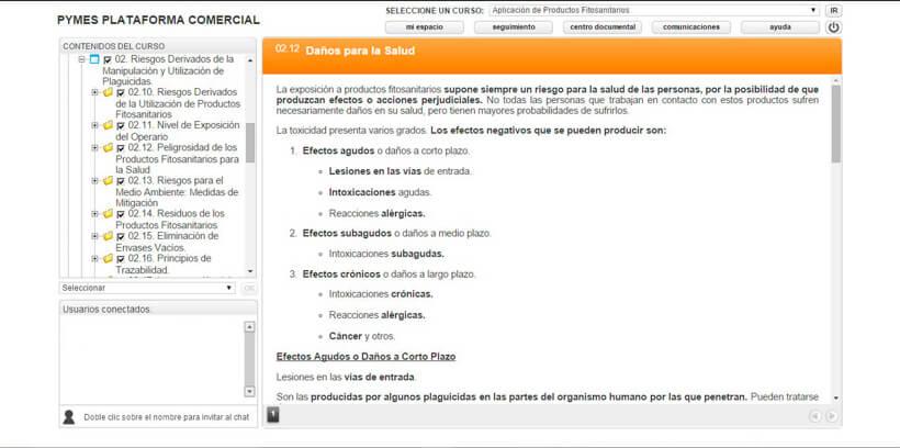 APLICACIÓN DE FITOSANITARIOS - Centro de Formación Nacional