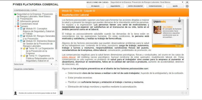 PREVENCIÓN RIESGOS LABORALES - BÁSICO - Centro de Formación Nacional