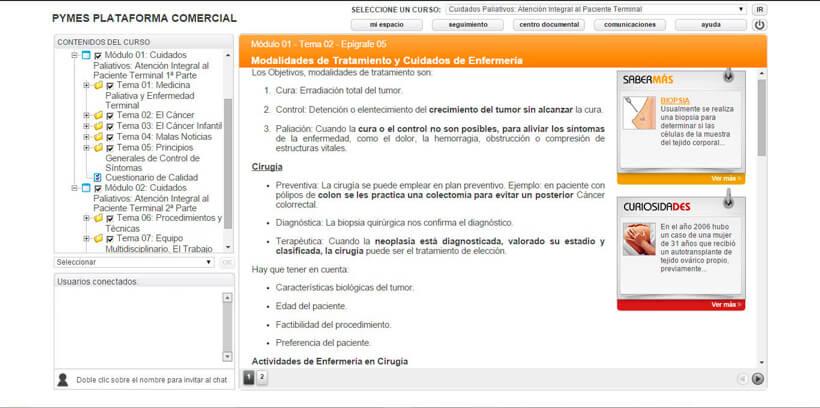 CUIDADOS PALIATIVOS DOMICILIARIOS - Pymes Plataforma Comercial