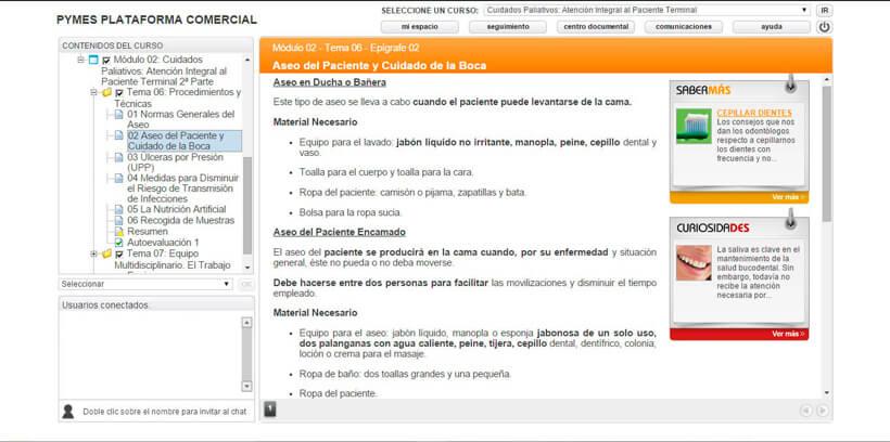 CUIDADOS PALIATIVOS DOMICILIARIOS - Centro de Formación Nacional