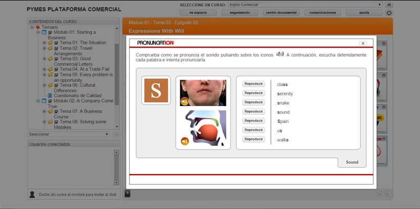 INGLÉS COMERCIAL - Pymes Plataforma Comercial