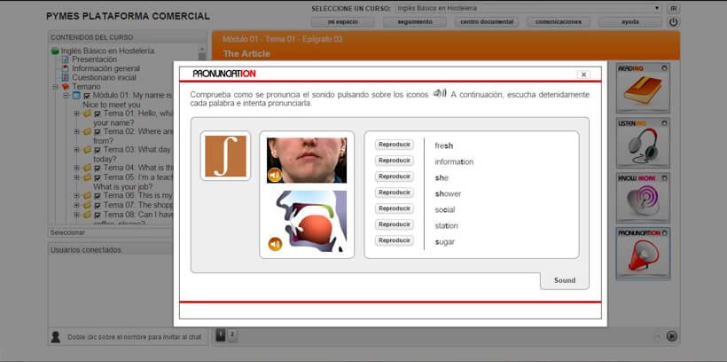 INGLÉS BÁSICO EN HOSTELERÍA - Pymes Plataforma Comercial
