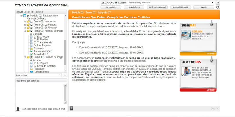 FACTURACIÓN Y ALMACÉN - Centro de Formación Nacional