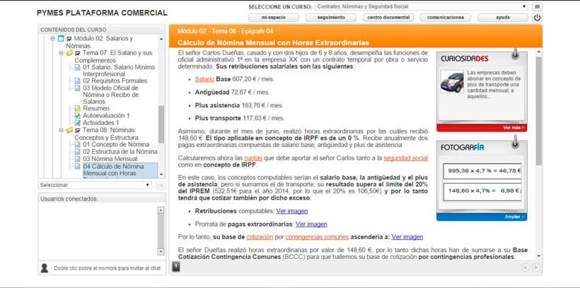 CONTRATOS, NÓMINAS Y SEGURIDAD SOCIAL - Centro de Formación Nacional