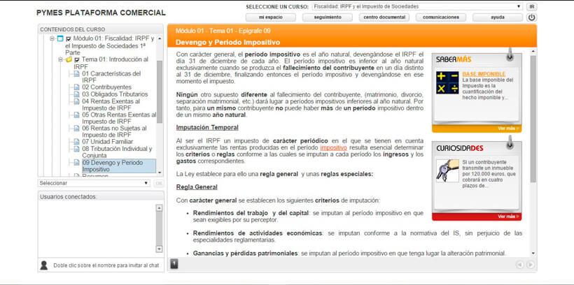 IRPF Y EL IMPUESTO DE SOCIEDADES - Pymes Plataforma Comercial