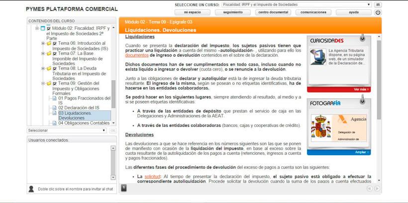 IRPF Y EL IMPUESTO DE SOCIEDADES - Centro de Formación Nacional