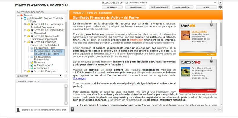 GESTIÓN CONTABLE - Pymes Plataforma Comercial