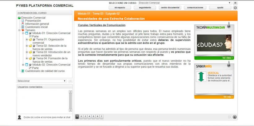 DIRECCIÓN COMERCIAL - Pymes Plataforma Comercial