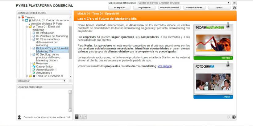 CALIDAD DE SERVICIO Y ATENCIÓN AL CLIENTE - Pymes Plataforma Comercial