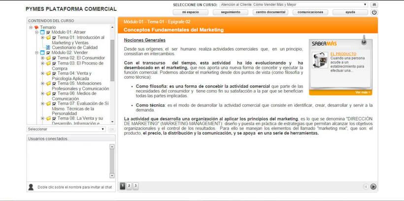 ATENCIÓN AL CLIENTE - Pymes Plataforma Comercial