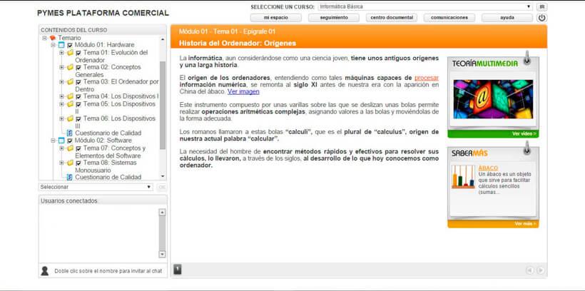INFORMÁTICA BÁSICA - Pymes Plataforma Comercial