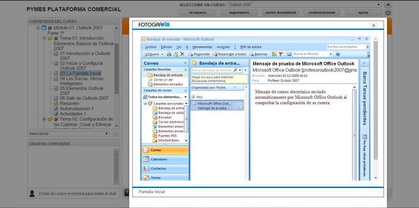 MICROSOFT OUTLOOK - Pymes Plataforma Comercial