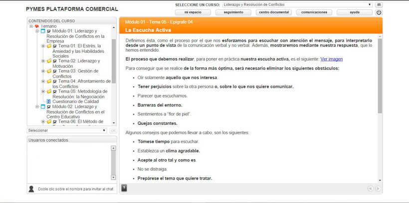 LIDERAZGO Y RESOLUCIÓN DE CONFLICTOS - Pymes Plataforma Comercial