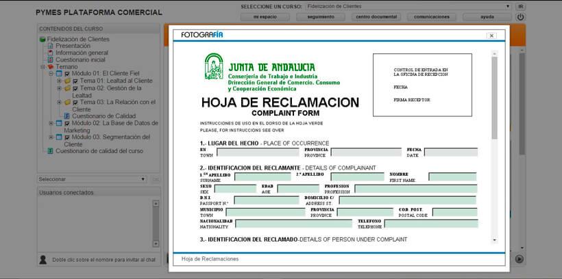 FIDELIZACIÓN DE CLIENTES - Pymes Plataforma Comercial